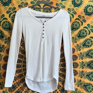 Old navy ribbed long sleeve blouse